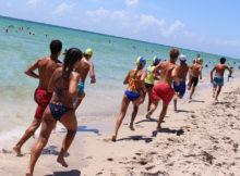 Lifeguards Running Under the Sun Sunscreen