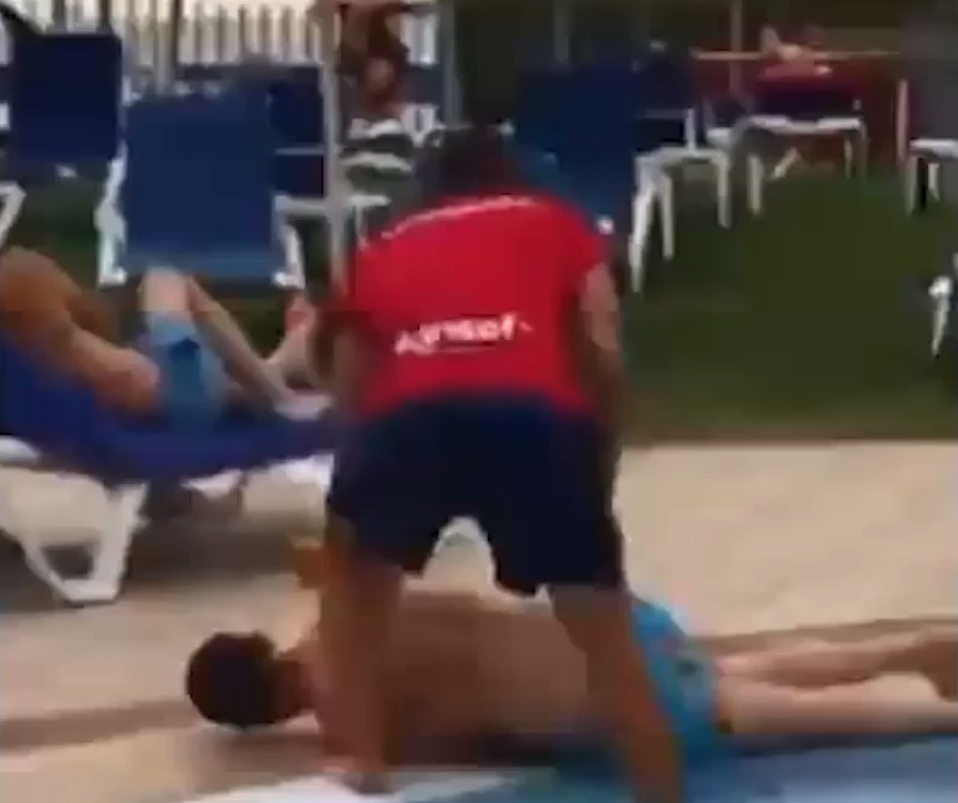 Lifeguard rescues drunk stag