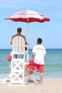 Lifeguard,Chair,Beach