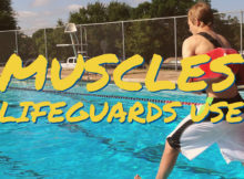 Muscles Lifeguards Use