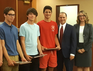4 Teen Lifeguards Were Honored