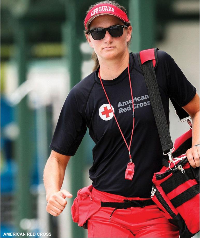 American red cross lifeguarding manual 16 edition (9780998374505.