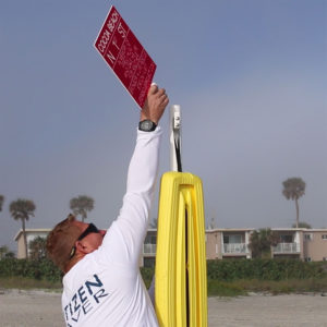 Life Rescue Project First on Cocoa Beach Florida