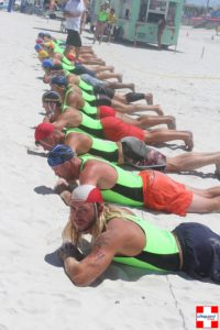 USLA Lifeguard Championships,Daytona Beach, Florida Time Every year in the United States, lifeguards from various counties and regions come together to put their lifeguarding skills to the test in the USLA National Lifeguard Championships.